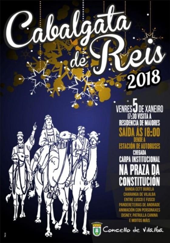 Cabalgata de Reis 2018
