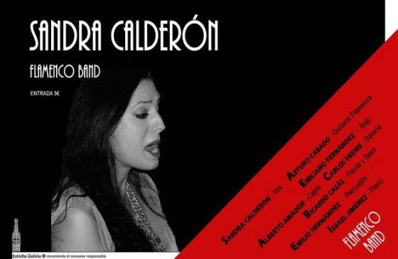 Sandra Calderón y Flamenco Band
