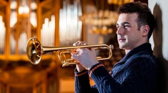 Concierto de Manuel Blanco, trompeta; Jesús Sánchez, piano