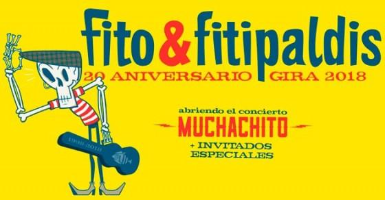 Concierto de Fito & Fitipaldis con Muchachito