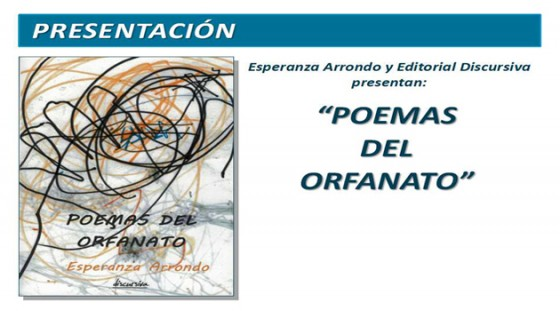Presentación do libro: Poemas del orfanato de Esperanza Arrondo